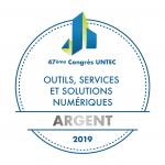 Trophees UNTEC Argent