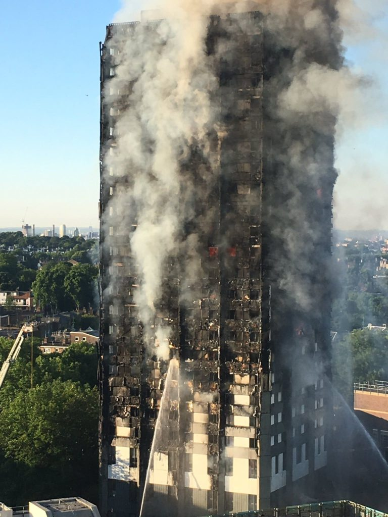 """the productivity dilemma """"Grenfell Tower fire, approximately 6 a.m."""""""